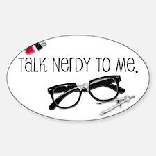 talknerdy-mp-more Sticker (Oval)