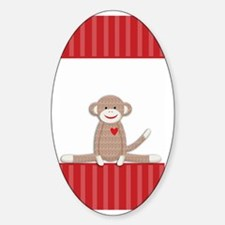 Sock Monkey 3G iphone case Decal