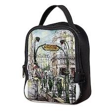 Paris 6 Neoprene Lunch Bag