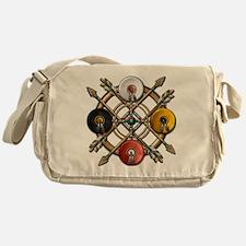 Medicine Wheel Mandala Messenger Bag