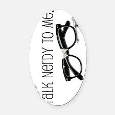 talknerdy-mp-more-vert Oval Car Magnet