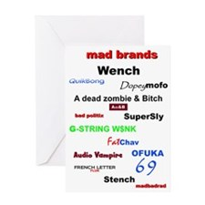 mad brands 3000 Greeting Card