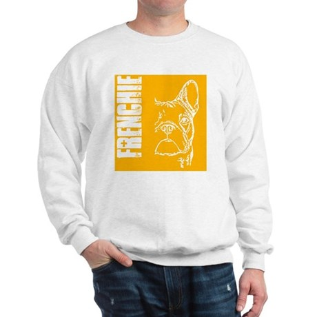 BHNW_frenchieORNG_flip_flops Sweatshirt