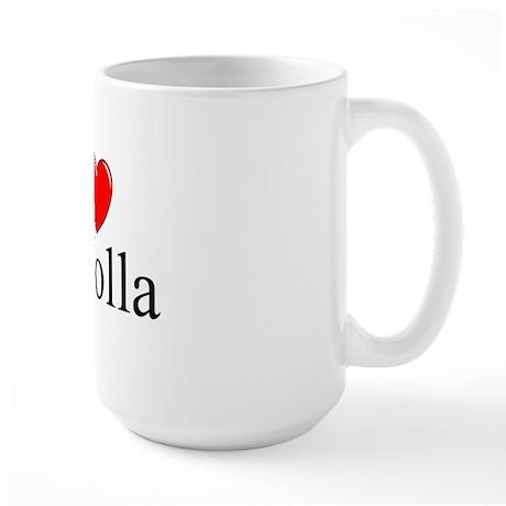 """I Love La Jolla"" Large Mug"
