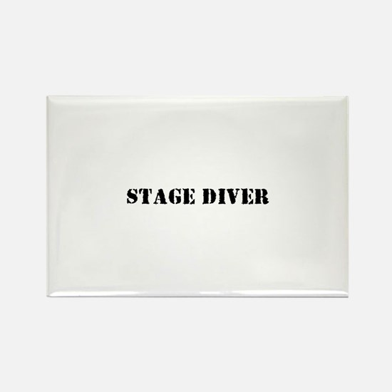 Stage Diver Rectangle Magnet