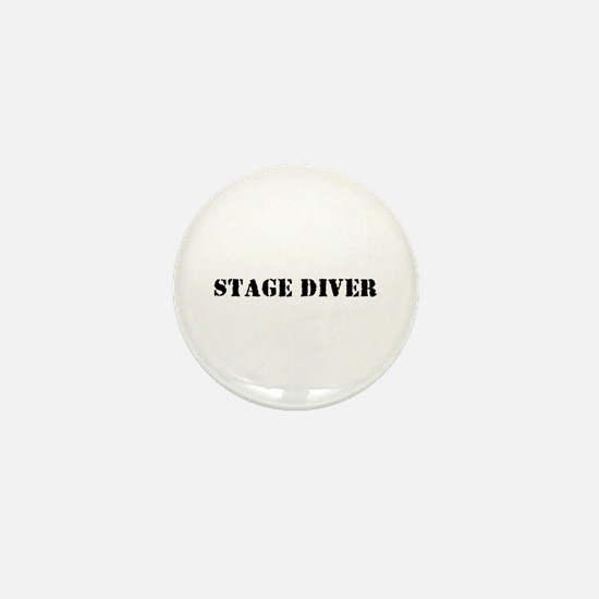 Stage Diver Mini Button