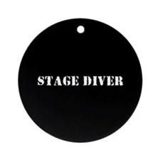 Stage Diver Ornament (Round)
