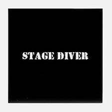 Stage Diver Tile Coaster
