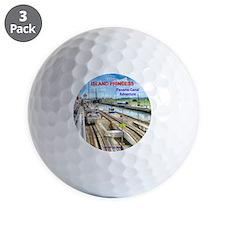 Island Princess  2011 - Panama Canal Ad Golf Ball