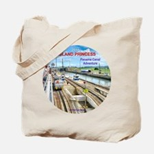 Island Princess  2011 - Panama Canal Adve Tote Bag