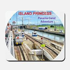 Island Princess  2011 - Panama Canal Adv Mousepad