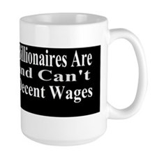 Billionaires are Starving Cant Afford W Mug
