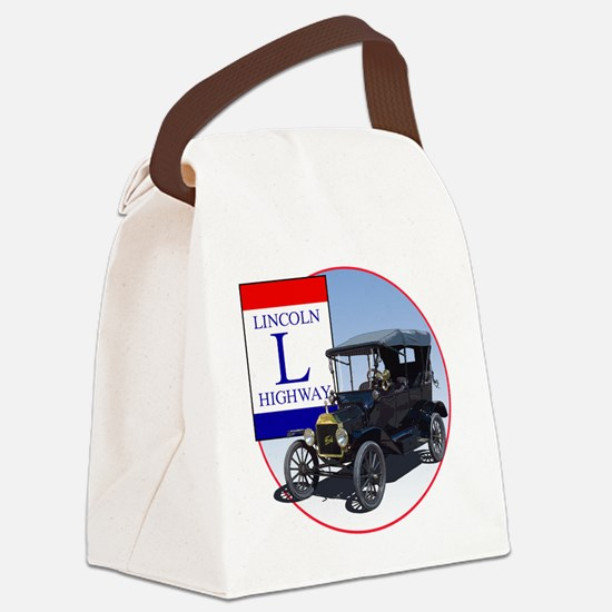 LincolnHighway-C10trans Canvas Lunch Bag