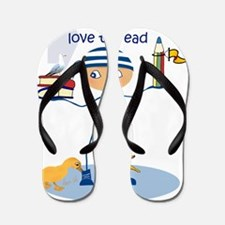 henry_love_to-read_Lore_M Flip Flops