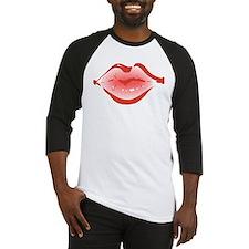 lips3 Baseball Jersey