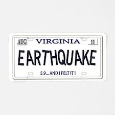 Plate Virginia Aluminum License Plate