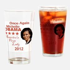 Michelle 2012 Drinking Glass