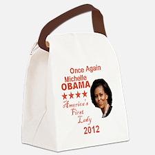 Michelle 2012 Canvas Lunch Bag