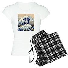 great_wave_flip_flops Pajamas
