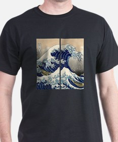 great_wave_flip_flops T-Shirt