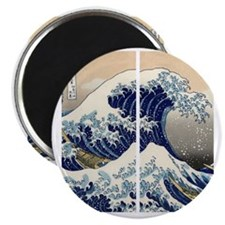 great_wave_flip_flops Magnet