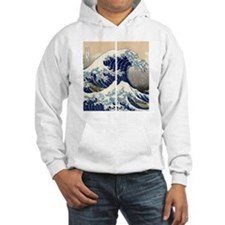 great_wave_flip_flops Hoodie