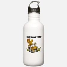 Custom African Lion Safari Water Bottle