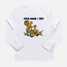 Custom African Lion Safari Long Sleeve T-Shirt