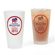 2012_thaddeus_mccotter_pres_main Drinking Glass