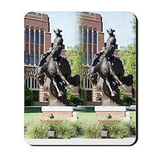 new horse logo -- statue Mousepad