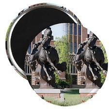 new horse logo -- statue Magnet
