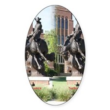 new horse logo -- statue Decal