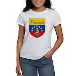 Venezuela Flag Crest Shield Women's T-Shirt