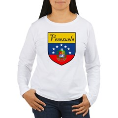 Venezuela Flag Crest Shield T-Shirt