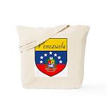 Venezuela Flag Crest Shield Tote Bag