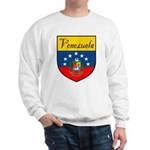 Venezuela Flag Crest Shield Sweatshirt