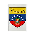 Venezuela Flag Crest Shield Rectangle Magnet (100