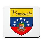 Venezuela Flag Crest Shield Mousepad