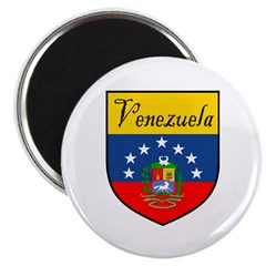 Venezuela Flag Crest Shield 2.25