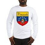 Venezuela Flag Crest Shield Long Sleeve T-Shirt