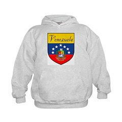 Venezuela Flag Crest Shield Hoodie
