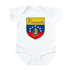 Venezuela Flag Crest Shield Infant Bodysuit