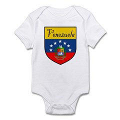 Venezuela Flag Crest Shield Infant Bodysuit