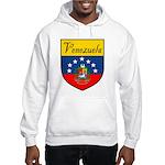 Venezuela Flag Crest Shield Hooded Sweatshirt