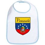 Venezuela Flag Crest Shield Bib