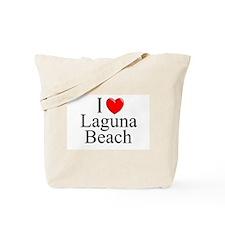"""""""I Love Laguna Beach"""" Tote Bag"""