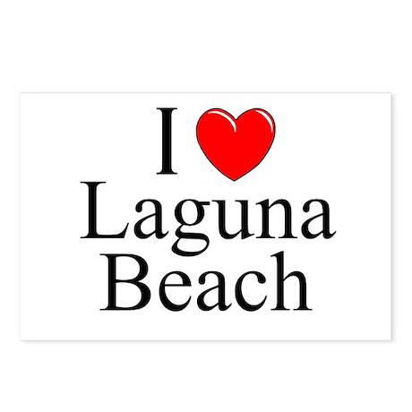 """I Love Laguna Beach"" Postcards (Package of 8)"
