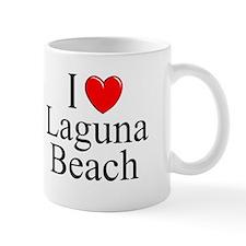 """I Love Laguna Beach"" Small Mug"