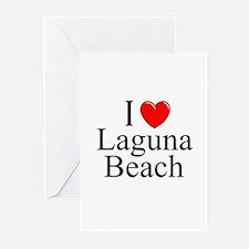 """I Love Laguna Beach"" Greeting Cards (Pk of 10"