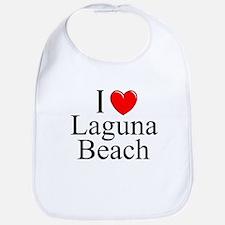 """""""I Love Laguna Beach"""" Bib"""